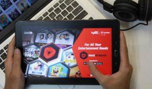 MAXSTREAM Aplikasi One Stop Video dari Telkomsel