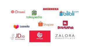 marketplace di Indonesia